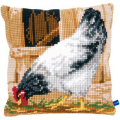 "15.75""X15.75"" - Grey Han Cushion Cross Stitch Kit"