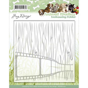 Animal Medley - Find It Trading Amy Design Embossing Folder
