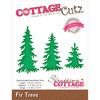 """Fir Trees 1.1""""X1.5"""" To 1.4""""X2.8"""" - CottageCutz Elites Die"""