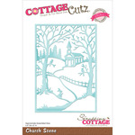 "Church Scene 3.5""X5"" - CottageCutz Elites Die"