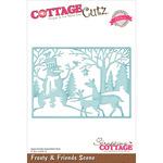 """Frosty & Friends Scene 5""""X3.575"""" - CottageCutz Elites Die"""