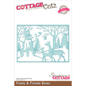 "Frosty & Friends Scene 5""X3.575"" - CottageCutz Elites Die"