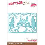 """Winter Forest Scene 5""""X3.575"""" - CottageCutz Elites Die"""