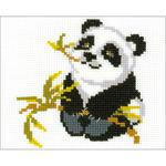 "7""X6"" 10 Count - Panda Counted Cross Stitch Kit"