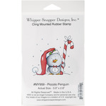 "Piccolo Penguin - Whipper Snapper Cling Stamp 4.25""X7"""