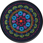 "6"" Round - Tribal Medallion Stamped Embroidery Kit"