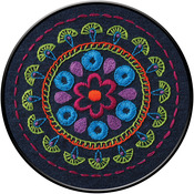 """6"""" Round - Tribal Medallion Stamped Embroidery Kit"""