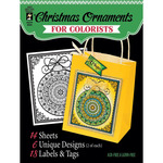 "Fancy Christmas - Hot Off The Press Colorist Coloring Book 5""X6"""