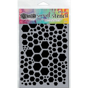 "Honeycomb - Dyan Reaveley's Dylusions Stencils 5""X8"""