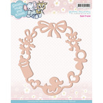 Baby Frame - Find It Trading Yvonne Creations Smiles, Hugs & Kisses Die