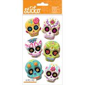 Sugar Skull - Sticko Halloween Stickers