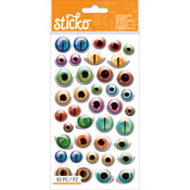 Creepy Eyeballs - Sticko Halloween Stickers