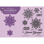 Snowflake - Hot Off The Press Stamp & Die Set