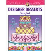 Creative Haven Designer Desserts - Dover Publications