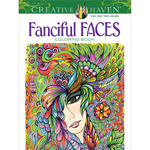 Creative Haven Fanciful Faces - Dover Publications
