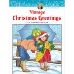 Creative Haven Vintage Christmas - Dover Publications