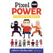 Pixel Power Coloring Book - Design Originals