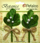 White Mistletoe Picks - Botanica Collection - Petaloo