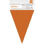 Halloween Pennant Banner Pad - American Crafts