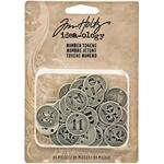 Number Tokens - Tim Holtz