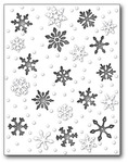 Snowy Scene - Memory Box