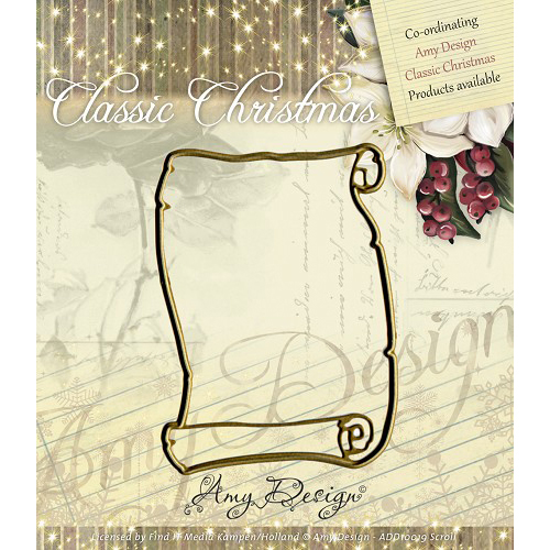 Scroll - Find It Trading Amy Design Classic Christmas Die