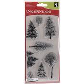 Woodland Wonderland - Inkadinkado Christmas Clear Stamps