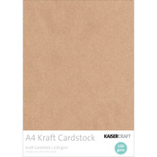 Kraft - Kaisercraft 120gsm Cardstock A4 20/Pkg
