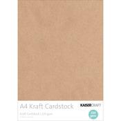 Kraft - Kaisercraft 220gsm Cardstock A4 20/Pkg