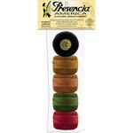 Purrfect 5/Pkg - Presencia America Perle Cotton Balls Sampler 77yd