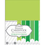 """Gorgeous Green - Core'dinations Value Pack Cardstock 8.5""""X11"""" 50/Pkg"""