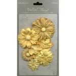 Gold Bella Paper Florals