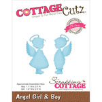 "Angel Girl & Boy 1.1"" To 2.5"" - CottageCutz Elites Die"