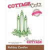 """Holiday Candles 2.5""""X3.5"""" - CottageCutz Elites Die"""