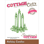 "Holiday Candles 2.5""X3.5"" - CottageCutz Elites Die"