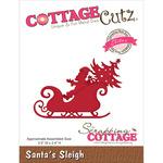 """Santa's Sleigh 3.5""""X2.4"""" - CottageCutz Elites Die"""