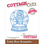 "Teddy Bear Snowglobe 2.5""X3"" - CottageCutz Elites Die"