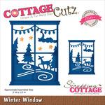 """Winter Window 3""""X3.8"""" - CottageCutz Elites Die"""