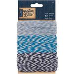 3 Colors, 10 Meters Each - Papermania Denim Blue Baker's Twine 3/Pkg