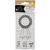 Rosette - Papermania Mr. Mister Mini Clear Stamps 75x140mm