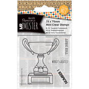 Trophy - Papermania Mr. Mister Mini Clear Stamps 75x75mm