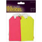 Papermania Neon Tags