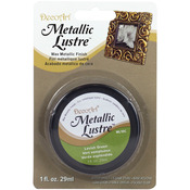 Lavish Green - Metallic Lustre Wax Finish 1oz