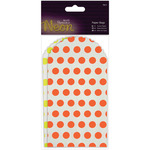 Yellow & Orange - Papermania Neon/White Paper Bags 6/Pkg