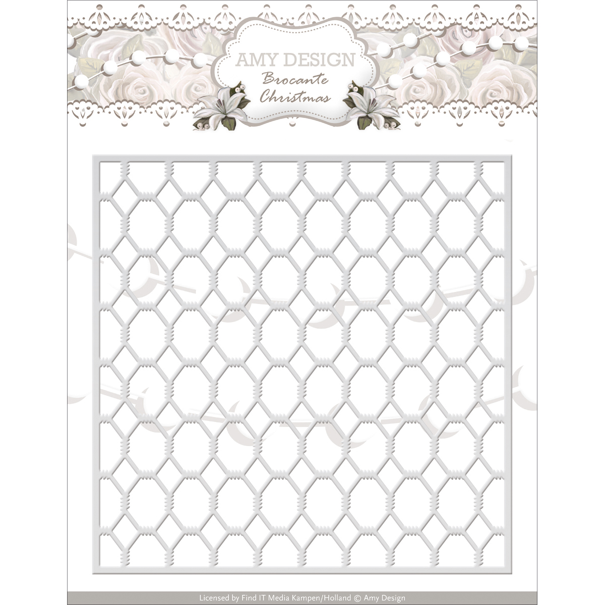 Wire Frame - Find It Trading Amy Design Brocante Christmas Die