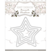 Mini Star Frames - Find It Trading Amy Design Brocante Christmas Die