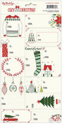 Cozy Christmas Cardstock Stickers - My Minds Eye