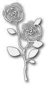 English Rose Stem - Memory Box