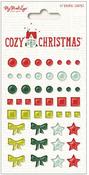 Cozy Christmas Enamel Shapes - My Minds Eye