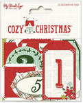 Cozy Christmas Advent Tags - My Minds Eye
